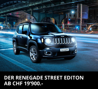 Jeep Reneade Street Edition